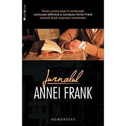 Jurnalul Annei Frank, editura Humanitas