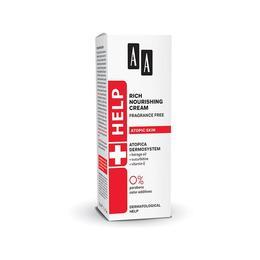 Crema intens nutritiva pentru piele atopica AA Help, Oceanic, 50 ml