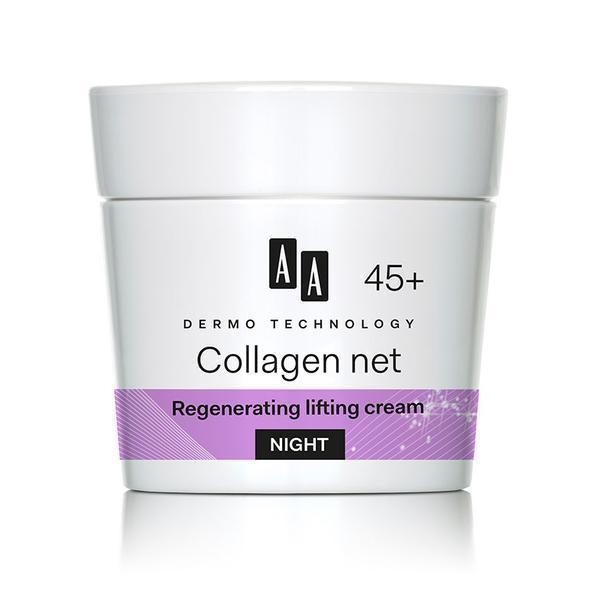 Crema de noapte antirid Oceanic AA Collagen net builder 45 50 ml imagine produs