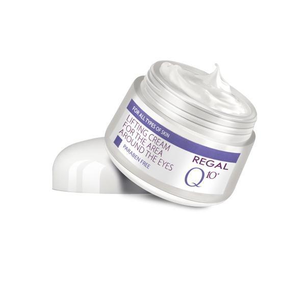 Crema regeneranta antirid pentru contur ochi Q10 Rosa Impex, 20 ml imagine produs