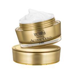 Crema intensiva antirid Active Gold 24K Camco, 50 ml
