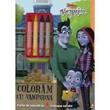 Disney: Vampirina. Coloram cu Vampirina, editura Litera