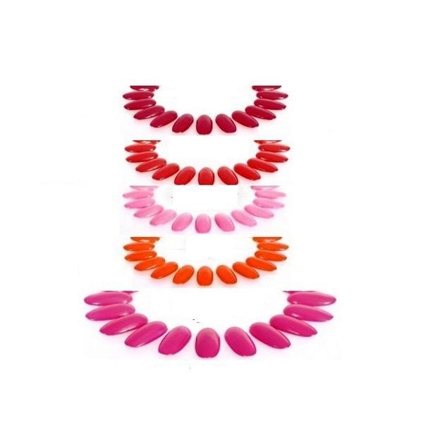 Pachet Clarissa Gel UV/ Led Color - Brandy, Diana, Gerbera, Neon Fucsia si Rosso Cardinale imagine produs