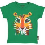 Tricou verde Tigru, varsta 1 - 7 ani - Coqenpate