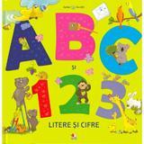Bebe invata. ABC si 123. Litere si cifre, editura Litera