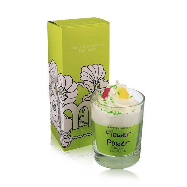 Lumanare parfumata, Flower Power, Bomb Cosmetics, 250 g imagine produs