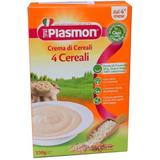 Crema din 4 Tipuri de Cereale Plasmon, 4 luni+, 230g