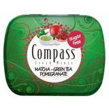 Drajeuri Compass Fresh Mints Rodie si Ceai Verde Powermints, 14g
