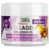 Crema de Zi si de Noapte Antirid Collagen 40-55 ani Victoria Beauty Camco, 50ml