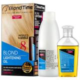 Decolorant Ulei pentru Par Blond Blond Time nr. 8 Rosa Impex, 120ml + 60g