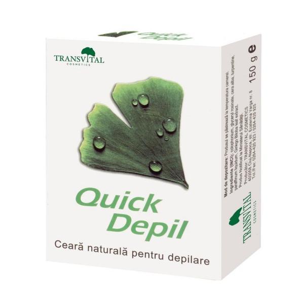 Ceara Depilatoare Quick Depil Quantum Pharm, 150 g imagine produs