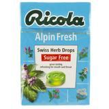 Dropsuri Alpine Fresh fara Zahar Ricola, 40g