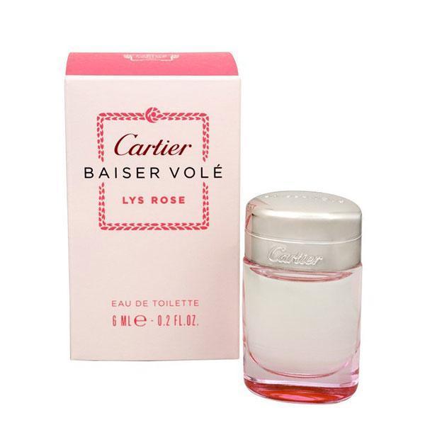 Apă de toaletă pentru femei Cartier Baiser Vole Lys Rose 6ml imagine produs