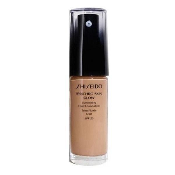 Fond de ten iluminator Shiseido Synchro Skin Glow 5 Rose 30ml