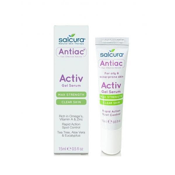 Gel tratament pentru ten acneic Salcura Antiac 15 ml