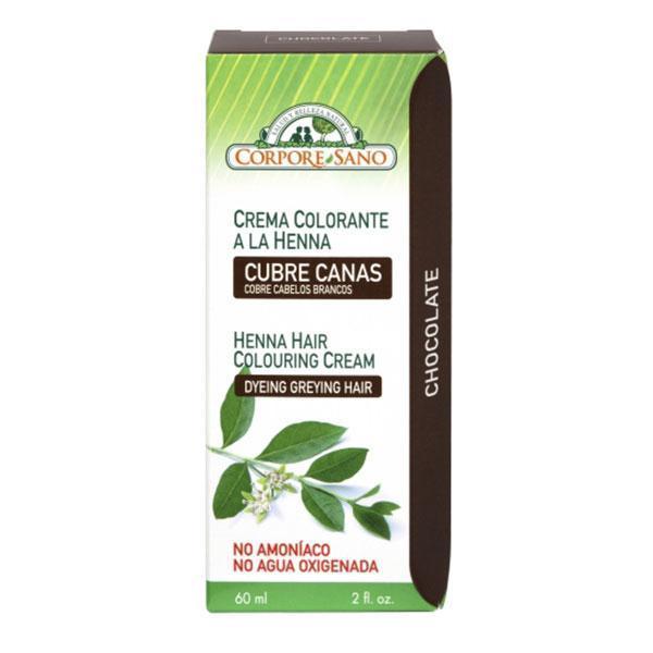 Vopsea henna crema semipermanenta Ciocolata Corpore Sano 60ml imagine produs