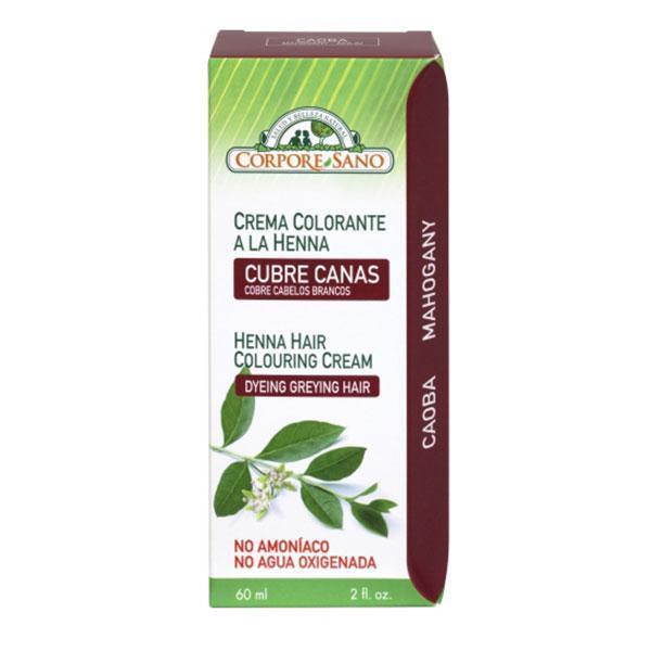 Vopsea henna crema semipermanenta Mahon Corpore Sano 60ml imagine produs