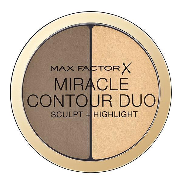 Fond de ten Max Factor Miracle Contour Duo Sculpt + Highlight Light/Medium 11g poza
