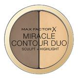 Fond de ten Max Factor Miracle Contour Duo Sculpt + Highlight Light/Medium 11g