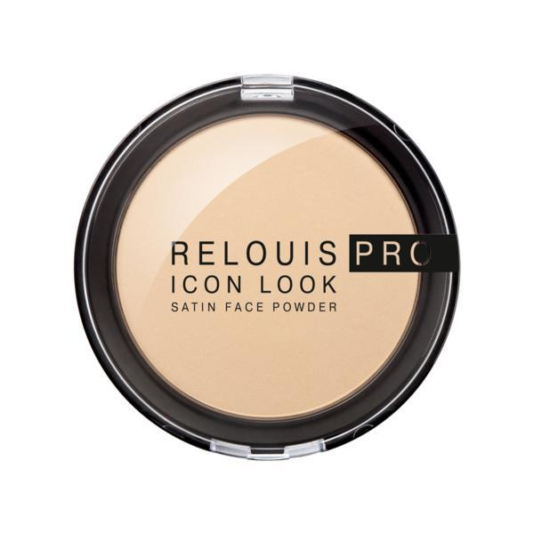 Pudra Relouis pro icon look satin face Powder, compacta imagine