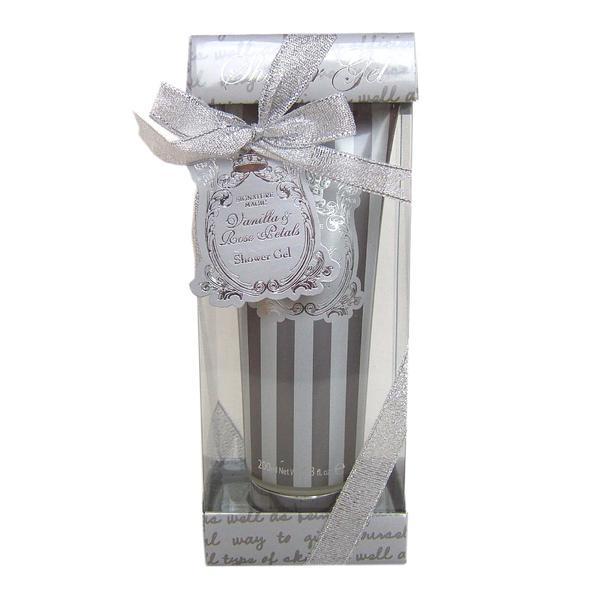 Cadou Gel floral Silver Signature Village Cosmetics, 200 ml imagine produs
