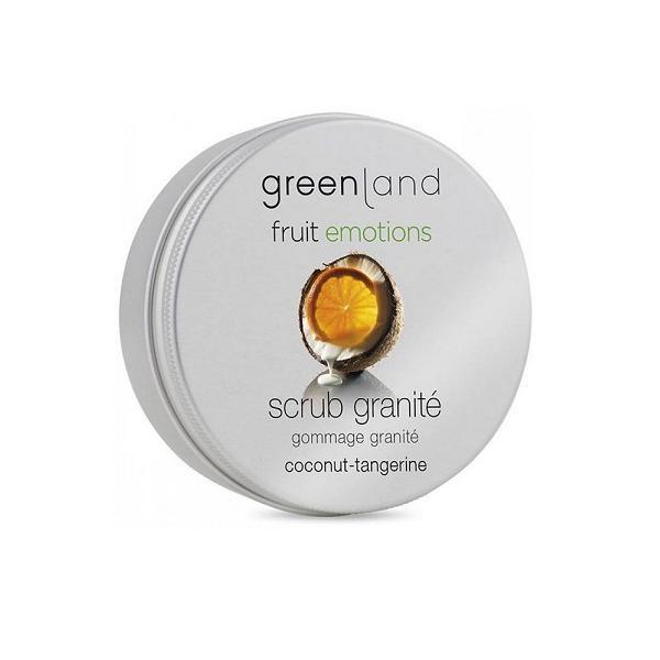Exfoliant corporal granita, cu cocos si mandarine, Greenland, 200 ml imagine produs