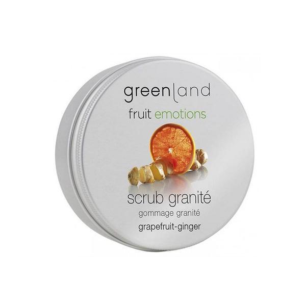 Exfoliant corporal granita, cu ghimbir si grepfruit, Greenland, 200 ml imagine produs