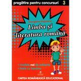 Limba si literatura romana cls 3 pregatire pentru concursuri - georgiana gogoescu