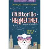 Calatoriile Hermelinei. Aventuri la New York - Jennifer Gray, editura Litera