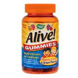 Alive - Gummies Multivitamin for Children Secom, 90 jeleuri