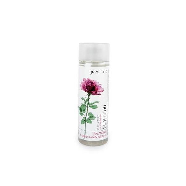 Ulei corp, trandafiri si patchouli, Greenland, 150 ml imagine produs
