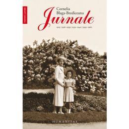 Jurnale - Cornelia Blaga-Brediceanu, editura Humanitas