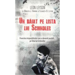 Un baiat pe lista lui Schindler (ed. de buzunar) - Leon Leyson, editura Rao