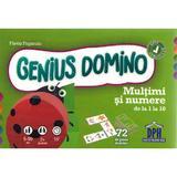 Genius Domino. Multimi si numere de la 1 la 10 - Flavio Fogarolo, editura Didactica Publishing House
