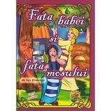 Fata babei si fata mosului. Carte de colorat - Ion Creanga , editura Omnibooks Unlimited