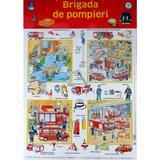 Plansa. Brigada de pompieri, editura Didactica Publishing House