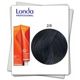 Vopsea Fara Amoniac - Londa Professional nuanta 2/8 negru perlat