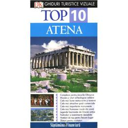 Top 10 Atena - Ghiduri turistice vizuale, editura Litera