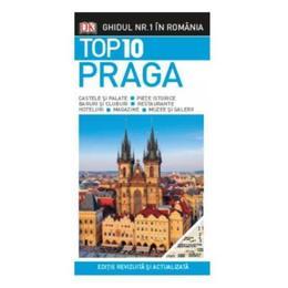 Top 10 Praga - Ghiduri turistice vizuale, editura Litera