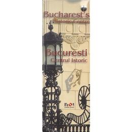 Bucuresti, Centrul istoric (lb. ro+eng), editura Noi