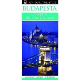 Budapesta - Harta si ghid de buzunar, editura Rao