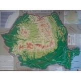 Harta fizica a Romaniei + Harta administrativa a Romaniei 1:2.300.000, editura Carta Atlas