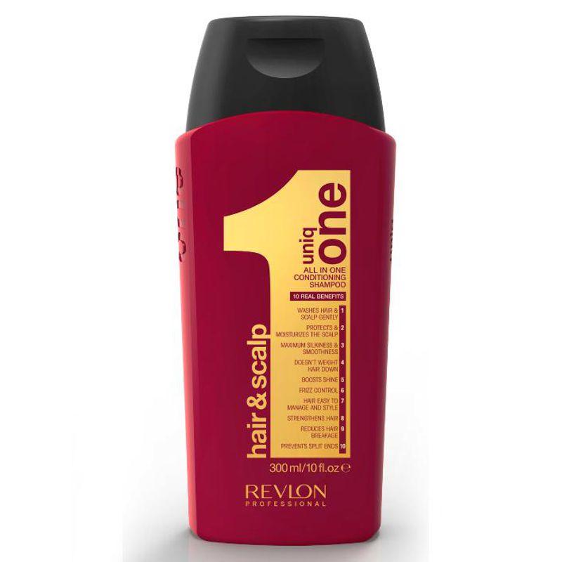 Sampon Nutritiv - Revlon Professional Uniq One All In One Conditioning Shampoo 300 ml imagine produs