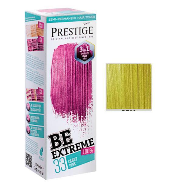 Vopsea de Par Semi-Permanenta Rosa Impex BeExtreme Prestige Vip's, nuanta BE32, 100 ml imagine produs