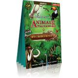 Harti pentru copii - Animale pe mapamond + Imperiul creaturilor istorice, editura Cartographia