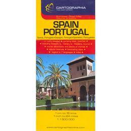 Spania, Portugalia - Spain, Portugal, editura Cartographia