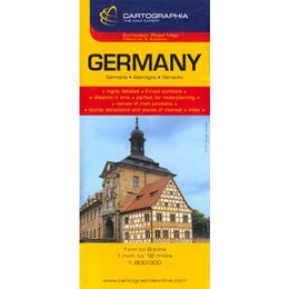 Germany - Germania, editura Cartographia