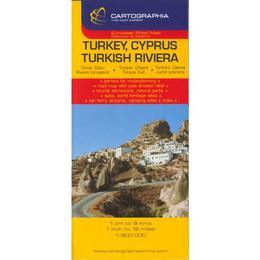 Turcia, Cipru - Turkey, Cyprus, editura Cartographia