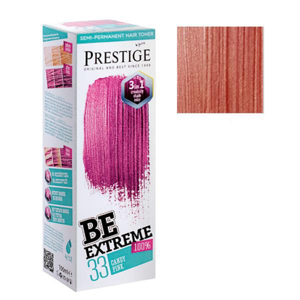 Vopsea de Par Semi-Permanenta Rosa Impex BeExtreme Prestige Vip's, nuanta BE35, 100 ml imagine produs
