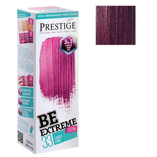 Vopsea de Par Semi-Permanenta Rosa Impex BeExtreme Prestige Vip's, nuanta BE45, 100 ml imagine produs